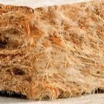 Fibre de bois flexible isonat