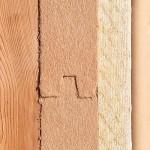 Fibre de bois rigide
