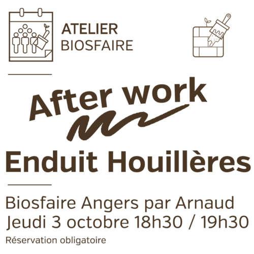 Atelier Houillères de Cruéjouls after work Angers