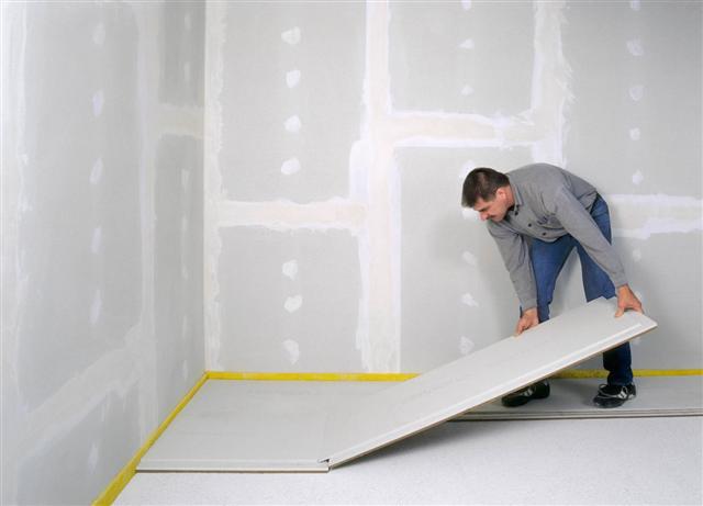 plaques de fermacell sol biosfaire mat riaux sains. Black Bedroom Furniture Sets. Home Design Ideas