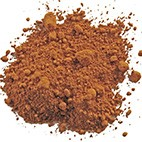 pigment terre orangee